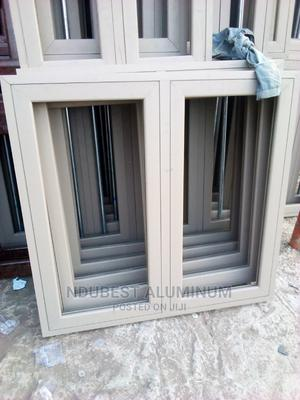 4 by 4 Casement Windows With Protector and Net | Windows for sale in Anambra State, Onitsha