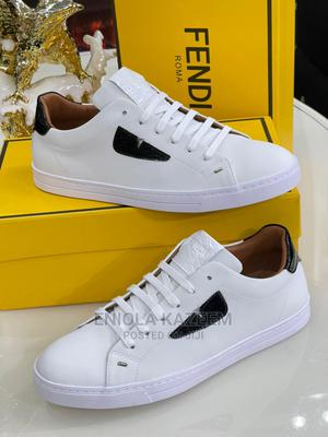 Quality Designer Leather Fendi Sneakers Available for U | Shoes for sale in Lagos State, Lagos Island (Eko)
