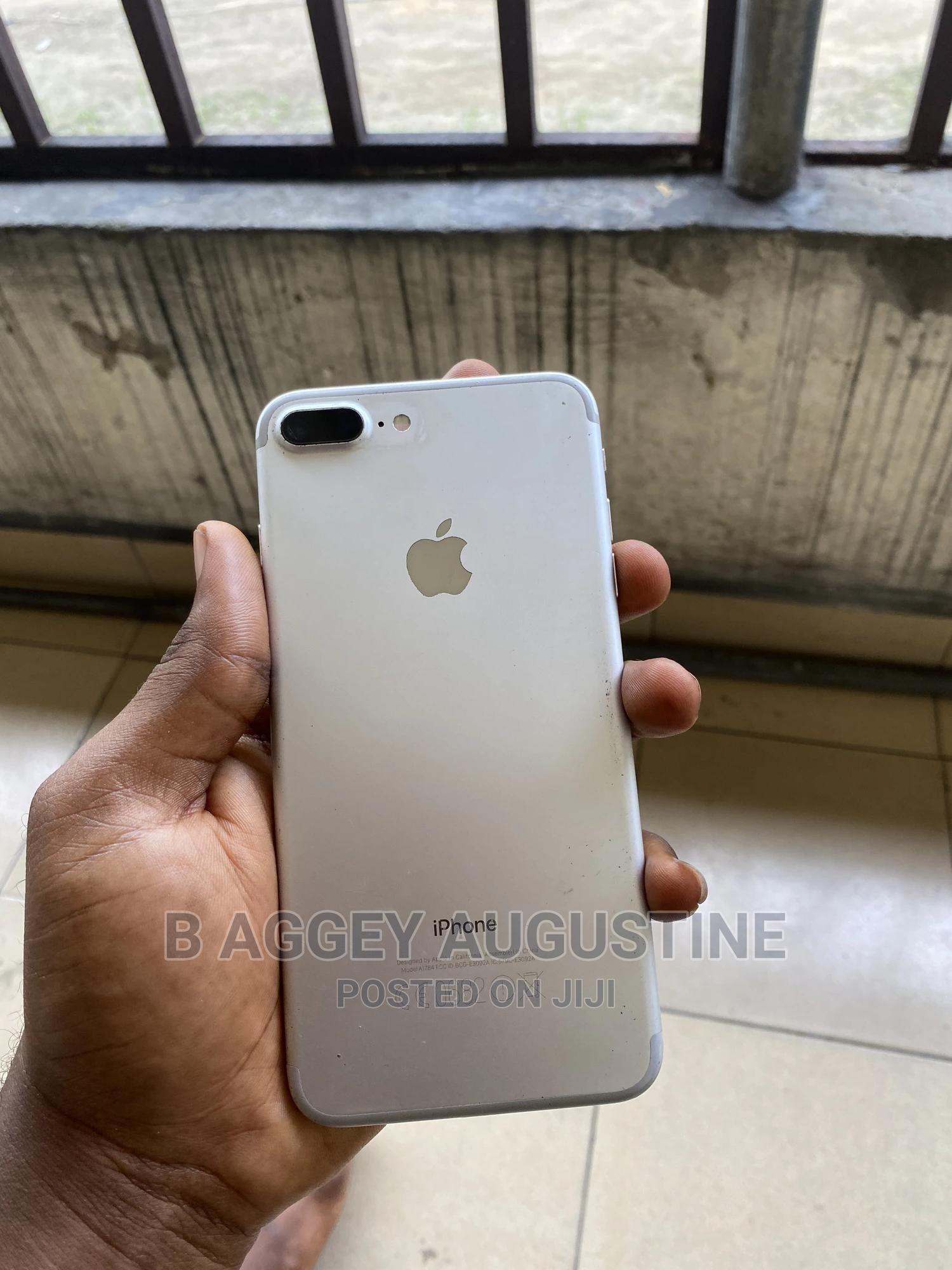 Apple iPhone 7 Plus 32 GB Silver   Mobile Phones for sale in Port-Harcourt, Rivers State, Nigeria