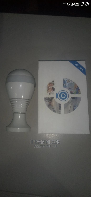 Wireless Spy Bulb Wi-Fi Camera