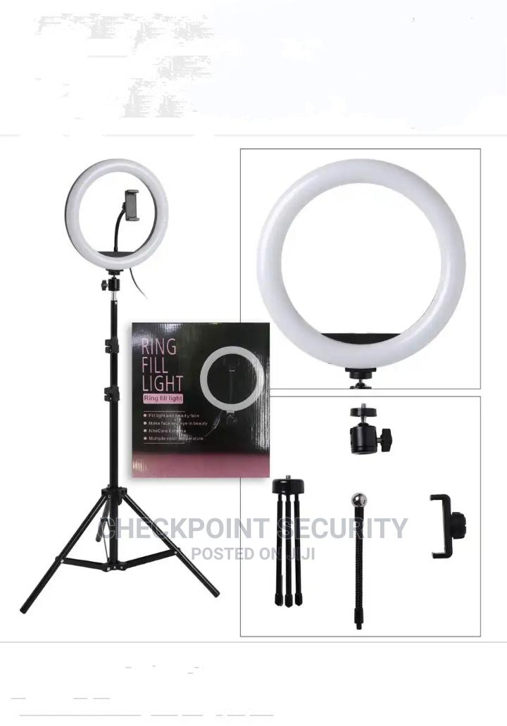26CM Selfie Ring Light With Stand 10 Inches