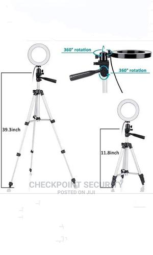 26cm 10 Inches Ring Light With Tripod Stand Holder | Accessories & Supplies for Electronics for sale in Lagos State, Ikeja