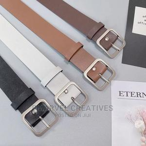 PU Leather Belt for Women Square Buckle Pin Buckle Jeans | Clothing Accessories for sale in Lagos State, Surulere
