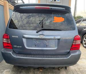 Toyota Highlander 2003 Gray | Cars for sale in Lagos State, Agege