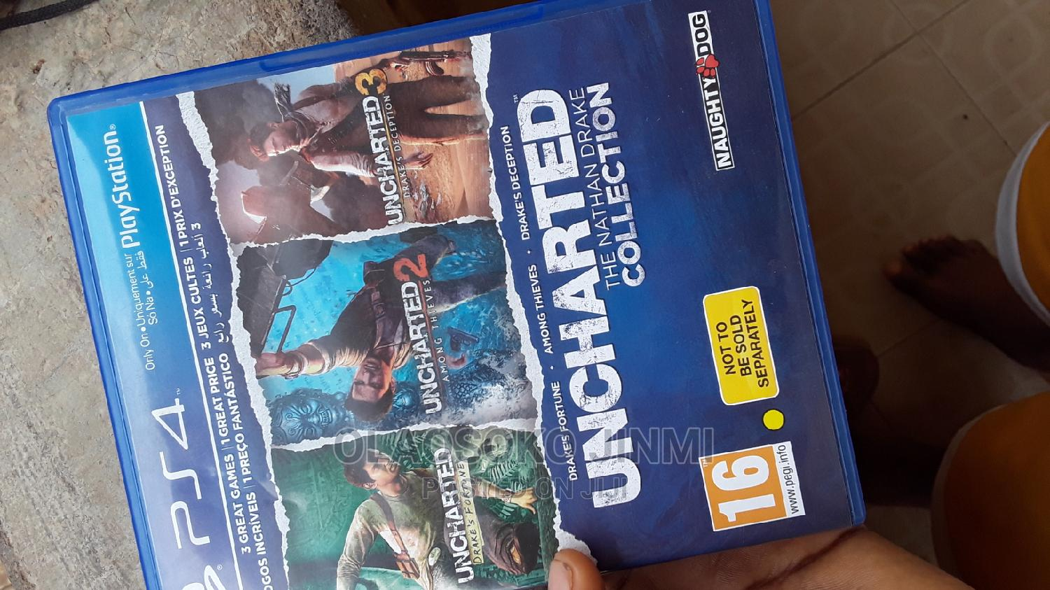 Archive: Uncharted: The Nathan Drake Collection