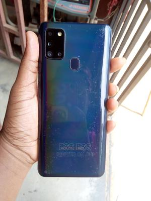 Samsung Galaxy A21s 64 GB Blue | Mobile Phones for sale in Lagos State, Ikorodu