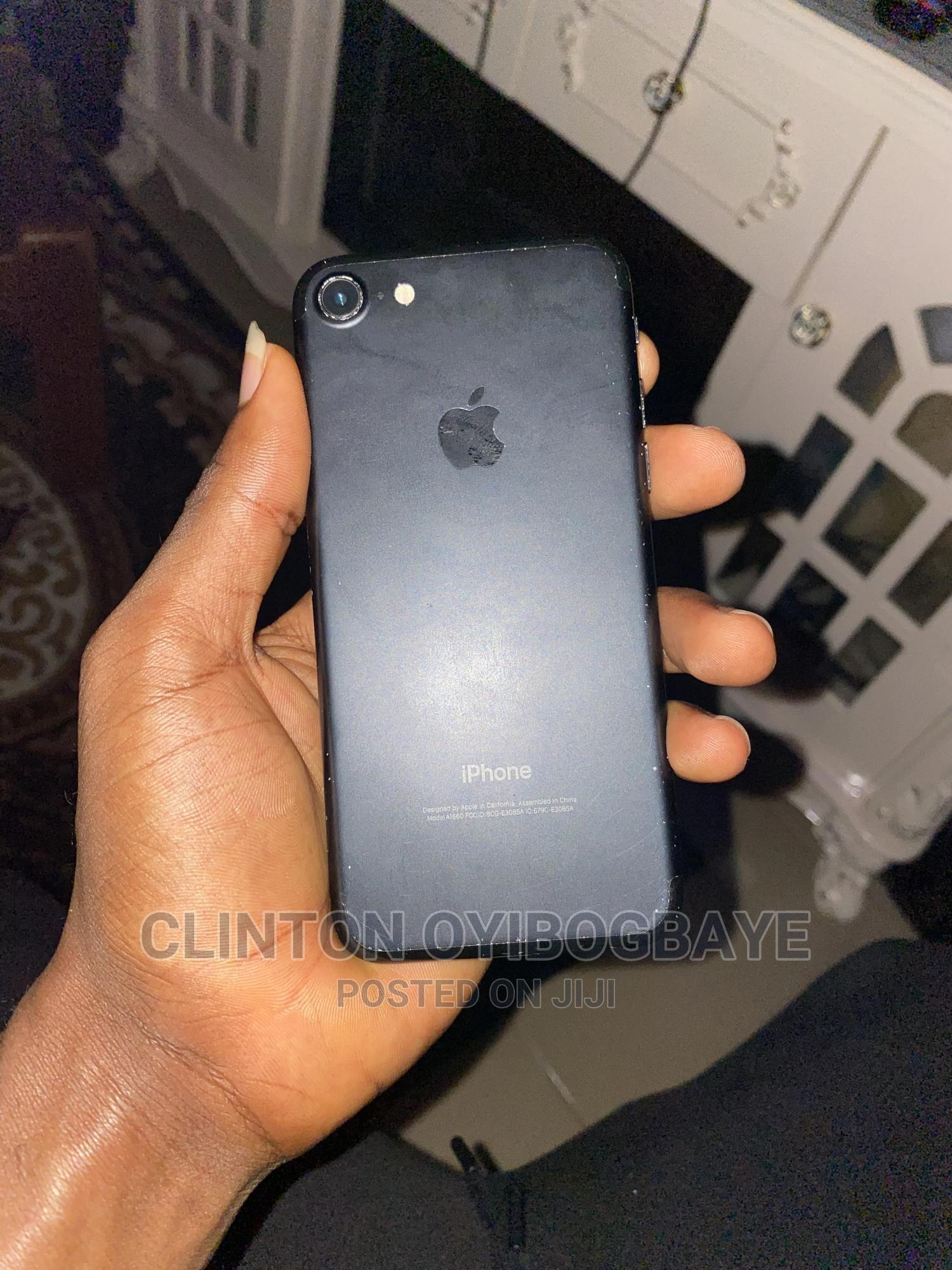 Apple iPhone 7 256 GB Black | Mobile Phones for sale in Port-Harcourt, Rivers State, Nigeria