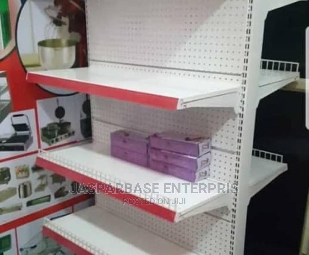 Double Face Supermarket Shelf