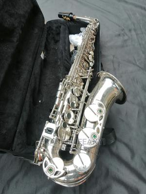 Used Silver Premier England Alto Saxophone   Musical Instruments & Gear for sale in Lagos State, Agboyi/Ketu