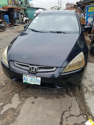 Honda Accord 2004 Automatic Black   Cars for sale in Lagos State, Ilupeju