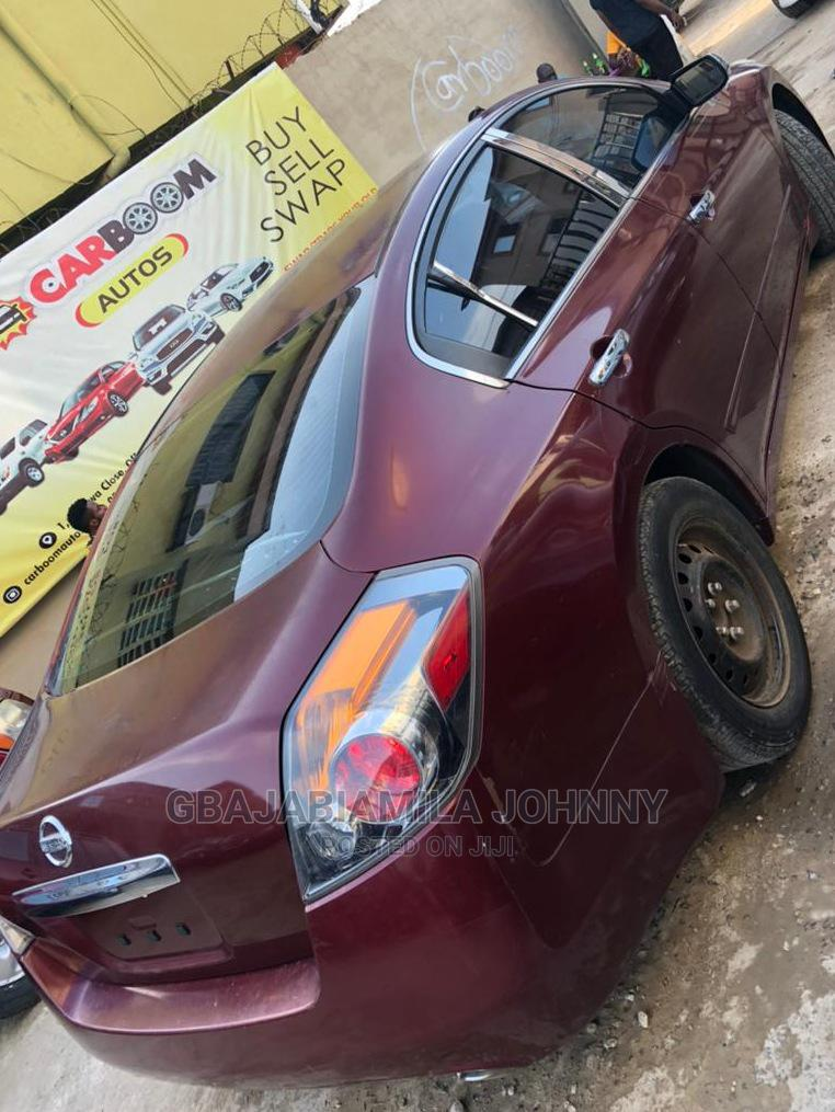 Nissan Altima 2010 2.5 Red | Cars for sale in Ikeja, Lagos State, Nigeria
