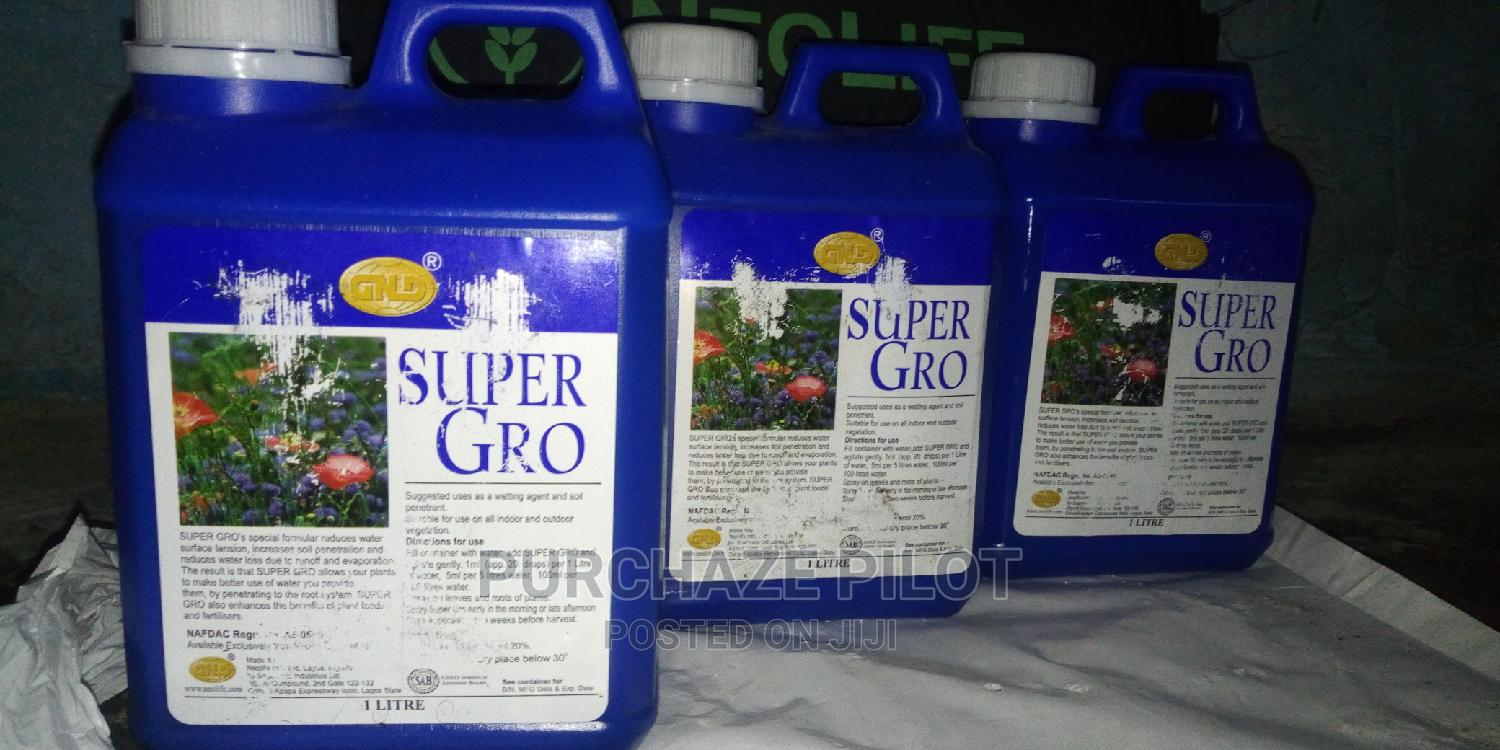 Super Gro for Plants and Fish Pond Organic Fertilization   Feeds, Supplements & Seeds for sale in Ikeja, Lagos State, Nigeria