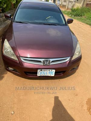 Honda Accord 2007 2.4 Red   Cars for sale in Abuja (FCT) State, Lugbe District