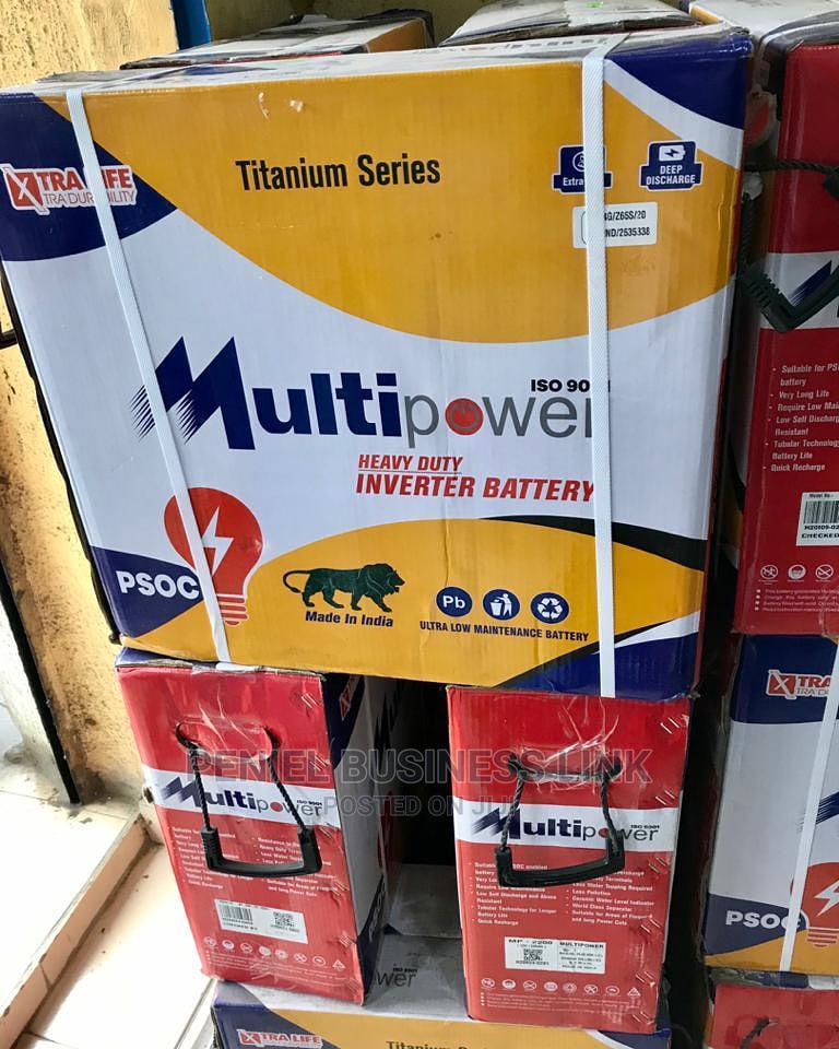 Multi Power 220ah 12v Tubular Battery