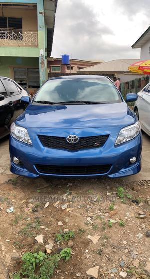 Toyota Corolla 2009 Blue | Cars for sale in Oyo State, Oluyole