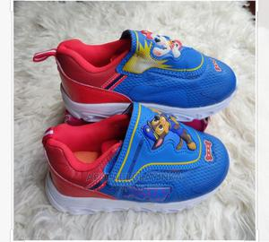 Children Sport Sneekers With Led Light | Children's Shoes for sale in Lagos State, Ikeja