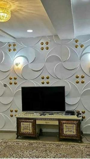 Gold Patterned 3D Wall Panel   Home Accessories for sale in Lagos State, Isolo