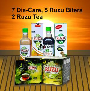 Ruzu Diabetes Combo Pack | Vitamins & Supplements for sale in Rivers State, Port-Harcourt