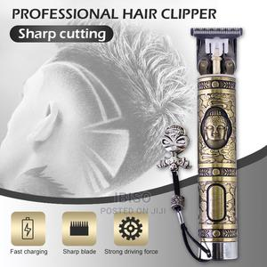 T9 Gold Hair Rechargeable Steel Hair Trimmer | Tools & Accessories for sale in Rivers State, Port-Harcourt