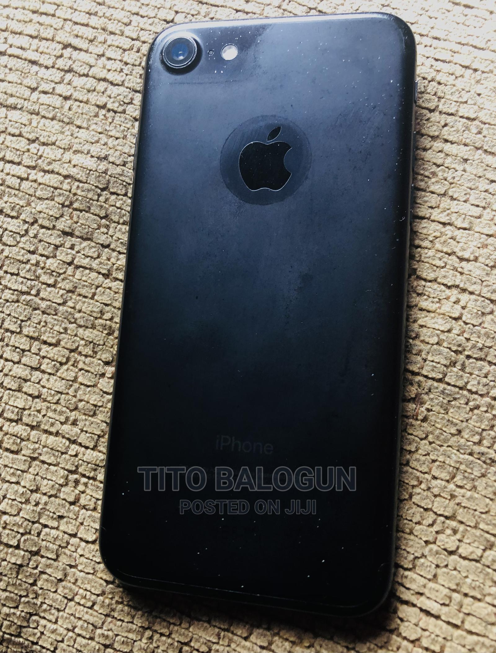 Apple iPhone 7 128 GB Black | Mobile Phones for sale in Shomolu, Lagos State, Nigeria