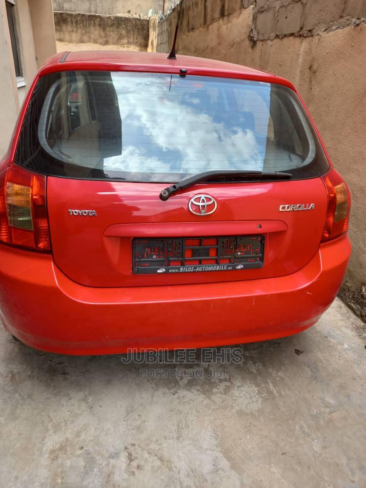 Toyota Corolla 2005 1.4 C Limousine Luna Red | Cars for sale in Mushin, Lagos State, Nigeria
