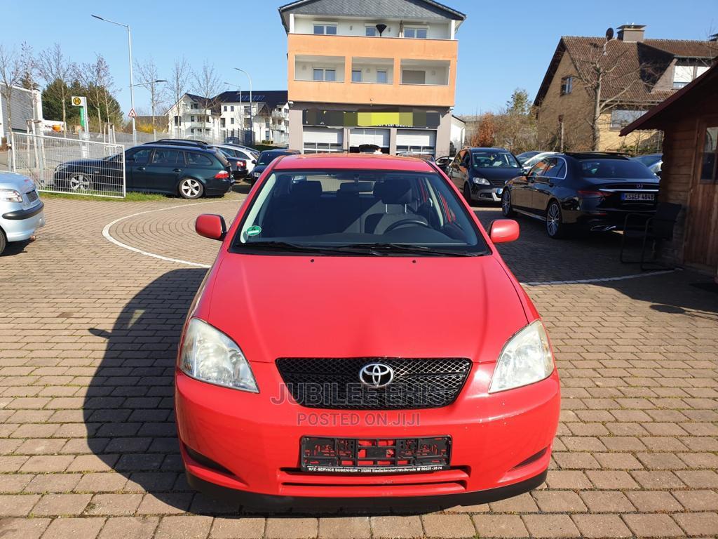 Toyota Corolla 2005 1.4 C Limousine Luna Red