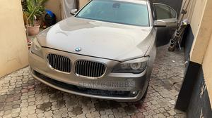 BMW 7 Series 2012 Gold   Cars for sale in Lagos State, Magodo