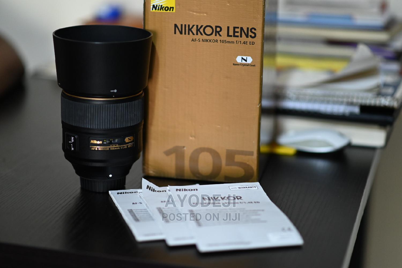 Archive: Nikon 105mm Full Frame 1.4E ED Telephoto Lens