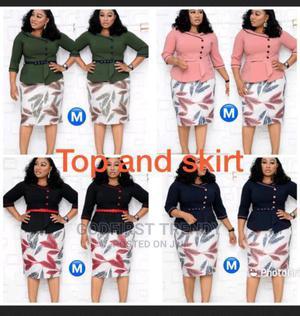Quality Trending Female Skirt Blouse | Clothing for sale in Lagos State, Lagos Island (Eko)
