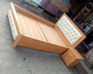 Wooden Bed Frame | Furniture for sale in Lagos State, Lekki