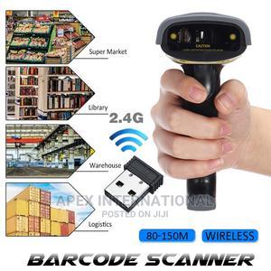 80-150m Wireless Transfer Distance Barcode Scanner Reader | Store Equipment for sale in Lagos State, Lekki
