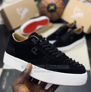 Original Christain Louboutin Red Bottom Low Sneakers   Shoes for sale in Lagos State, Surulere