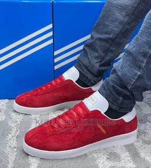 """Original Adidas Topanga """"Red"""" Sneakers Now Available   Shoes for sale in Oyo State, Surulere-Oyo"""