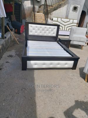 Quality Wooden Bed Frame | Furniture for sale in Lagos State, Lekki