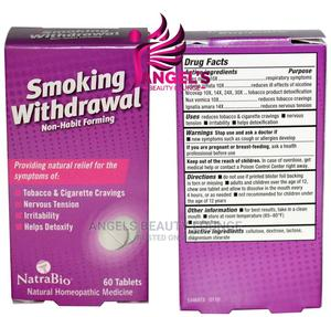 Natrabio Smoking Withdrawal 60 Tablets   Vitamins & Supplements for sale in Lagos State, Ojo