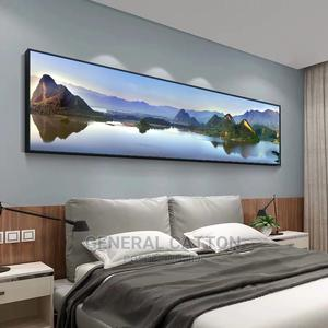 Classical Landscape Art Mountains and Lakes Canvas Paintings | Arts & Crafts for sale in Lagos State, Ikoyi