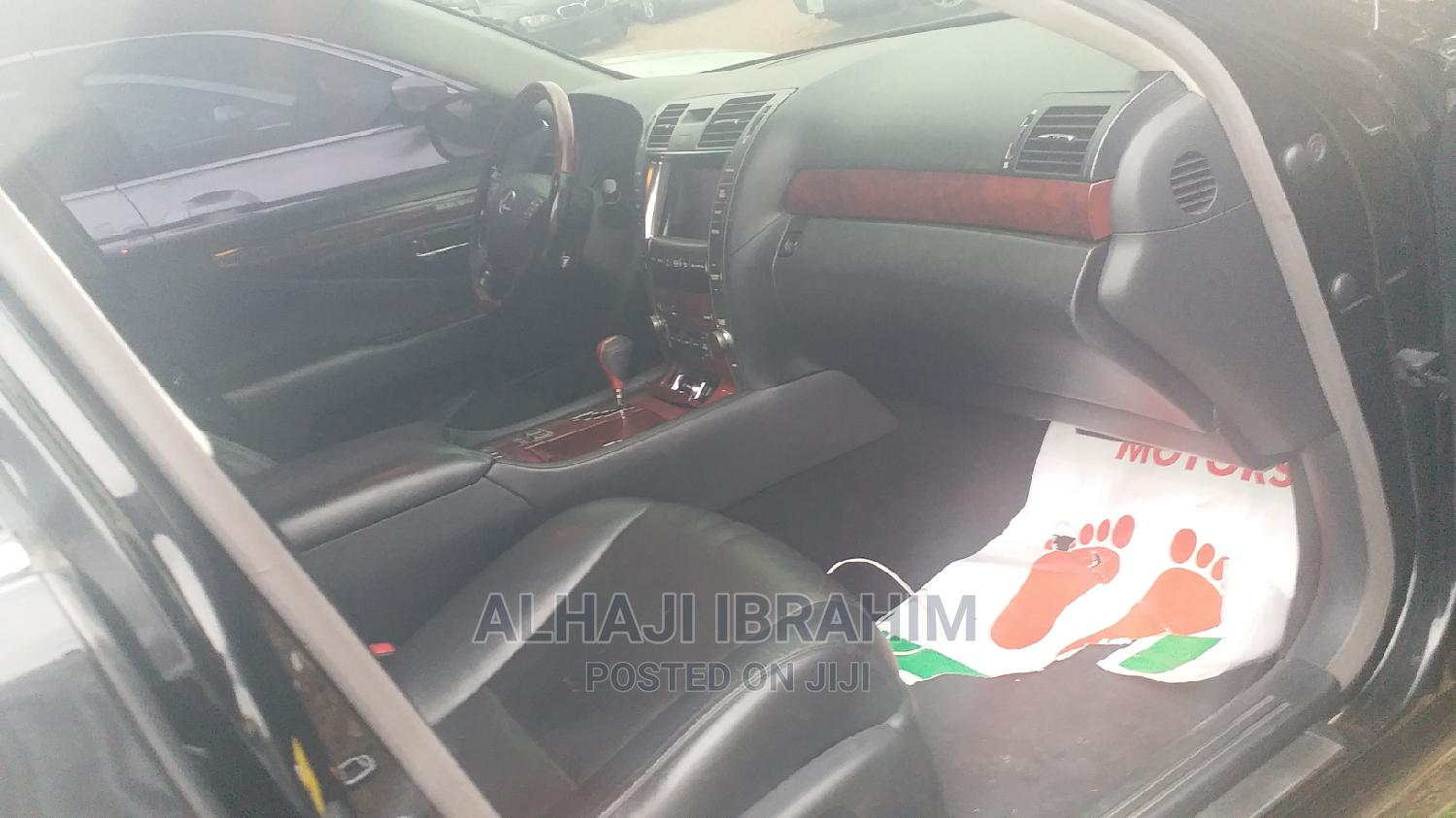 Lexus LS 2008 460 Black | Cars for sale in Central Business Dis, Abuja (FCT) State, Nigeria