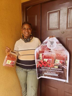 Blended and Parboiled Pure Tomato/Pepper Mix   Meals & Drinks for sale in Lagos State, Ojodu