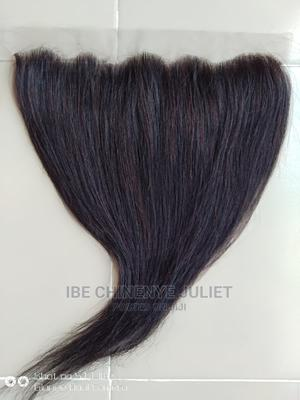 18 Inches Human Hair Frontal, Best Quality Human Hair | Hair Beauty for sale in Lagos State, Lagos Island (Eko)