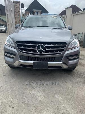 Mercedes-Benz M Class 2012 Gray | Cars for sale in Lagos State, Ejigbo