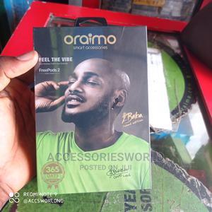 Oraimo Freepods-2 2baba-Version TWS True Wireless Stereo   Headphones for sale in Lagos State, Ikeja