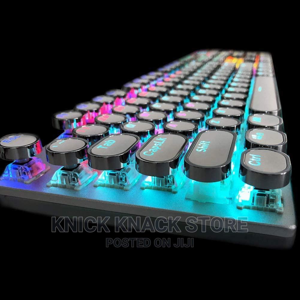 104 Keys Retro Gaming Mechanical Keyboard