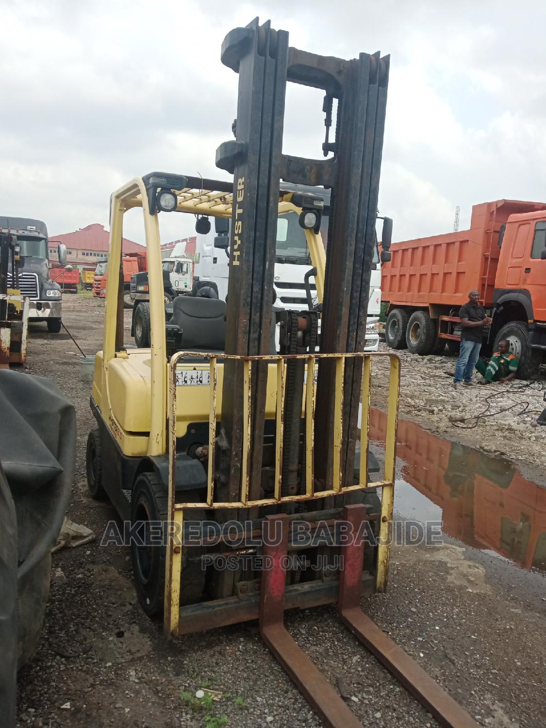 This Forklift Is Jus Like a Now One and Is 3ton   Heavy Equipment for sale in Isolo, Lagos State, Nigeria