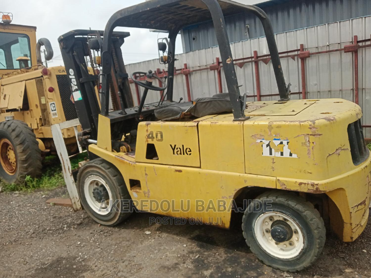 This Forklift Is Just Two Good