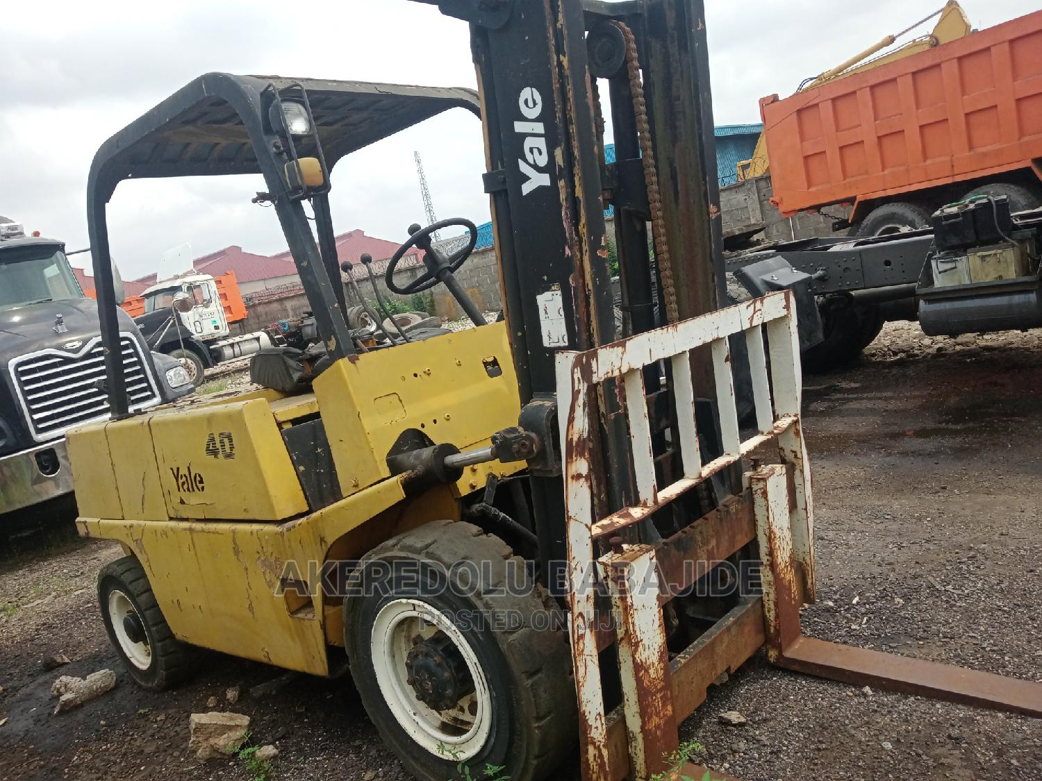 This Forklift Is Just Two Good   Heavy Equipment for sale in Isolo, Lagos State, Nigeria