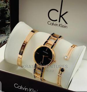 Calvin Klein (CK) Set Rose Gold Chain Watch for Women's | Watches for sale in Lagos State, Lagos Island (Eko)