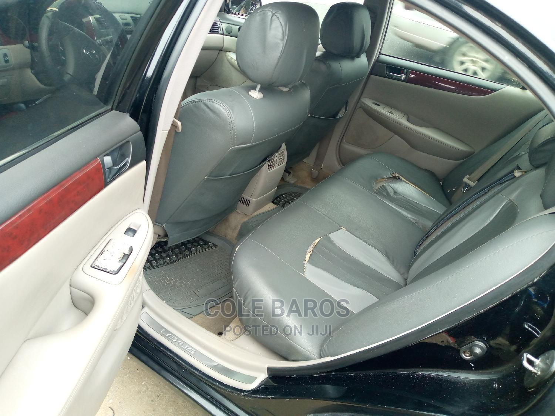 Lexus ES 2003 330 Black | Cars for sale in Port-Harcourt, Rivers State, Nigeria
