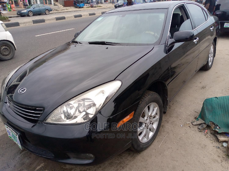 Lexus ES 2003 330 Black