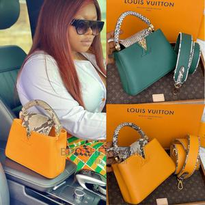 Louis Vuitton Luxury Leather Handbag | Bags for sale in Lagos State, Surulere