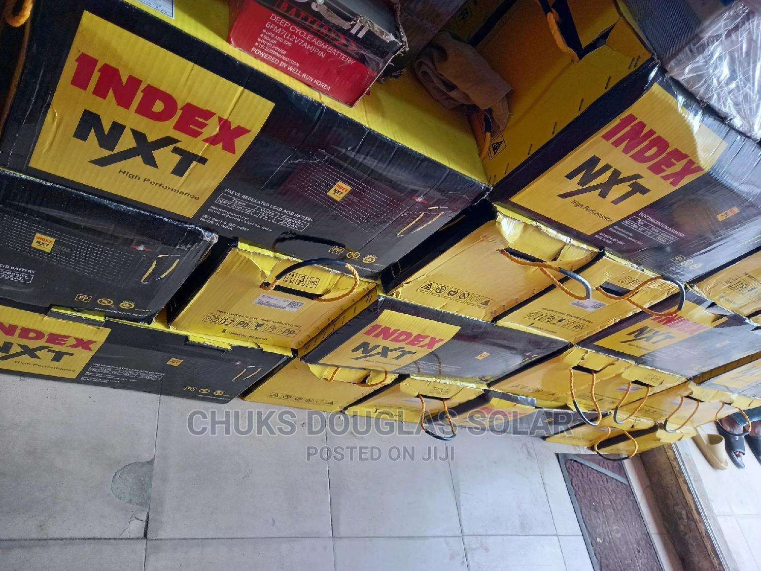 200a 12v Index Battery   Solar Energy for sale in Badagry, Lagos State, Nigeria